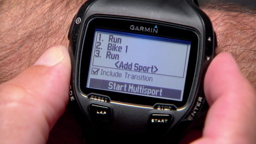 GARMIN Forerunner 910XT Tri Bundle - image 7 from the video