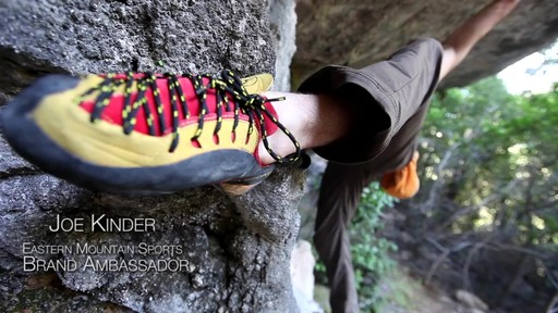 Heel and Toe Hooks - Climbing Techniques with Joe Kinder - image 2 from the video