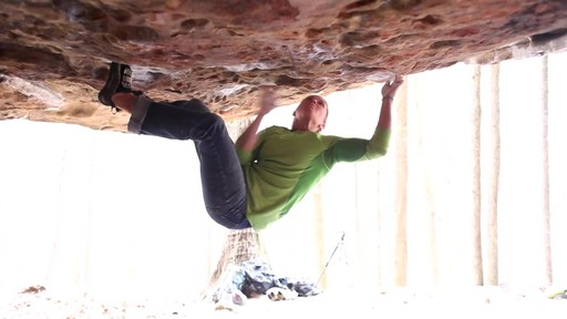 Heel and Toe Hooks - Climbing Techniques with Joe Kinder - image 9 from the video