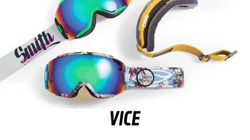 SMITH Vice Snow Goggles - image 1 from the video