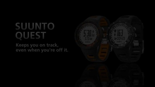 SUUNTO Quest Heart Rate Monitor - image 9 from the video