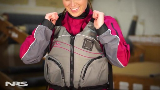 NRS Women's Zoya Mesh Back PFD - image 4 from the video