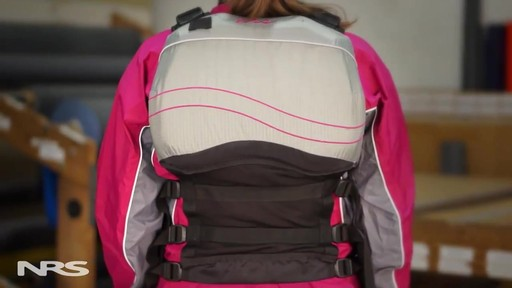 NRS Women's Zoya Mesh Back PFD - image 6 from the video