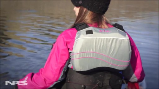 NRS Women's Zoya Mesh Back PFD - image 8 from the video