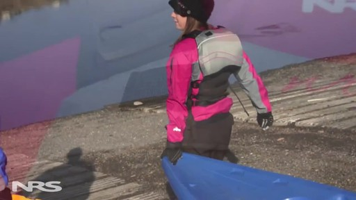 NRS Women's Zoya Mesh Back PFD - image 9 from the video