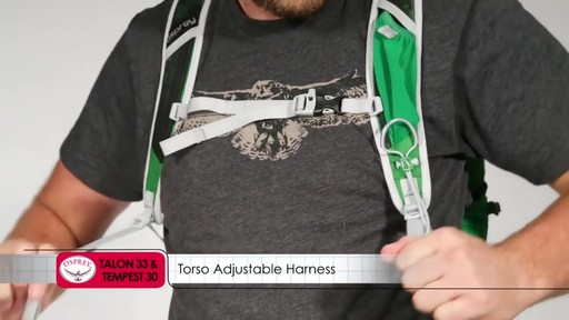 OSPREY Talon 33 & Tempest 30 Packs - image 8 from the video