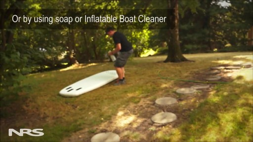 Inflatable SUP Board Cleaning and Care - image 3 from the video