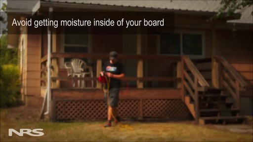 Inflatable SUP Board Cleaning and Care - image 6 from the video