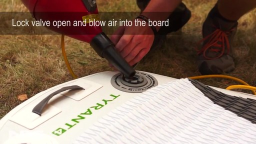 Inflatable SUP Board Cleaning and Care - image 7 from the video