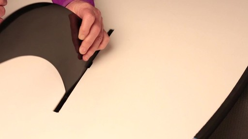 How to attach the fin to a Stand Up Paddleboard - image 5 from the video