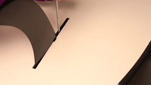 How to attach the fin to a Stand Up Paddleboard - image 7 from the video