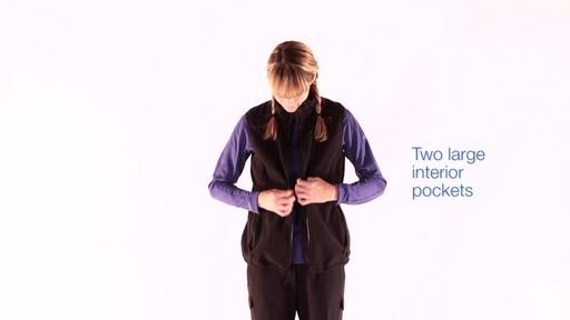 EMS Women's WindFactor Fleece Vest - image 10 from the video