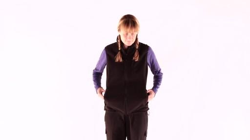 EMS Women's WindFactor Fleece Vest - image 3 from the video