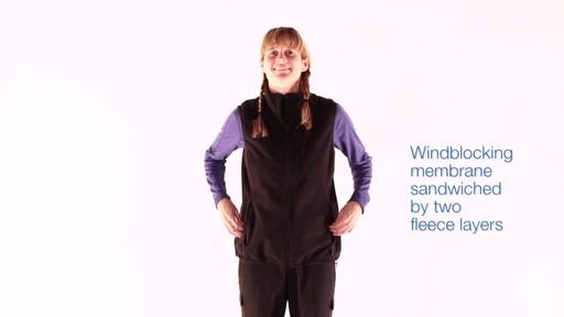 EMS Women's WindFactor Fleece Vest - image 6 from the video