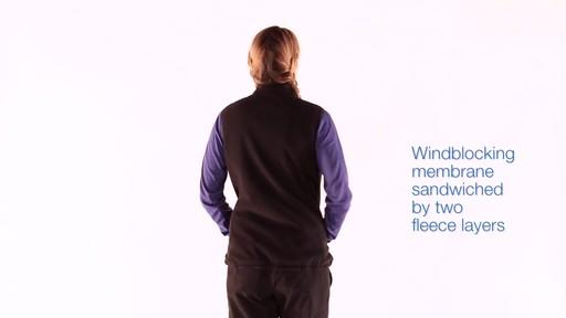 EMS Women's WindFactor Fleece Vest - image 7 from the video