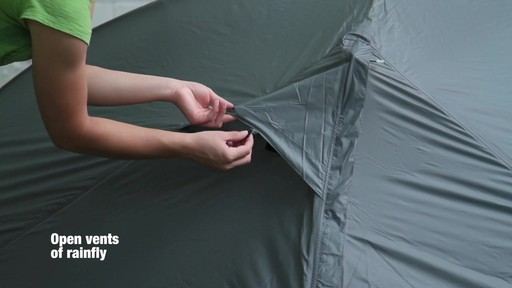 How to set up the EMS Velocity 2 Tent: Eastern Mountain Sports - image 10 from the video
