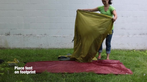 How to set up the EMS Velocity 2 Tent: Eastern Mountain Sports - image 3 from the video