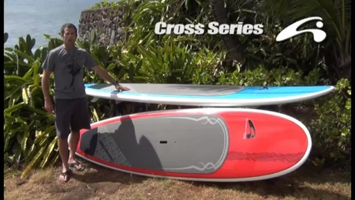 AMUNDSON Cross Stand Up Paddleboards - image 1 from the video