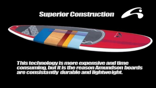AMUNDSON Cross Stand Up Paddleboards - image 10 from the video
