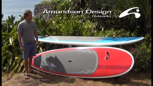 AMUNDSON Cross Stand Up Paddleboards - image 2 from the video