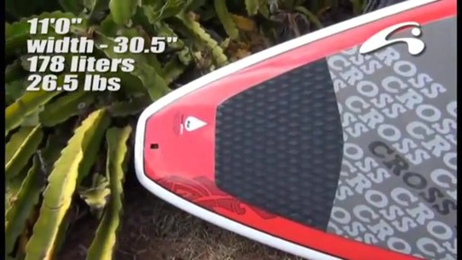 AMUNDSON Cross Stand Up Paddleboards - image 7 from the video
