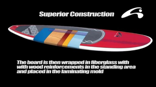 AMUNDSON Cross Stand Up Paddleboards - image 9 from the video