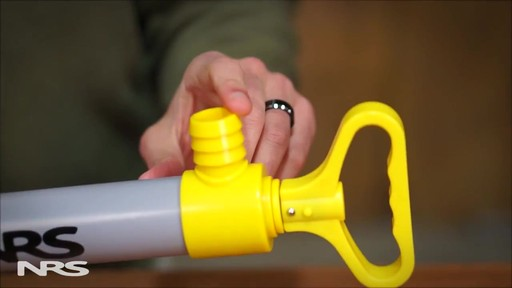 NRS Kayak Bilge Pump - image 7 from the video