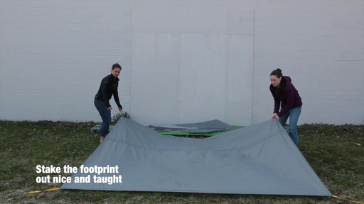 How to set up the EMS Big Easy 6 Tent: Eastern Mountain Sports - image 1 from the video
