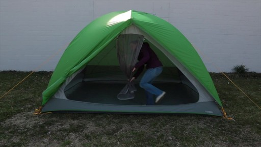 How to set up the EMS Big Easy 6 Tent: Eastern Mountain Sports - image 10 from the video