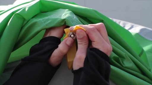 How to set up the EMS Big Easy 6 Tent: Eastern Mountain Sports - image 6 from the video