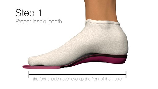 SUPERFEET: Sizing your insole - image 2 from the video