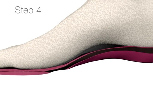 SUPERFEET: Sizing your insole - image 8 from the video