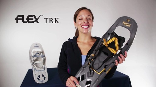 TUBBS FLEX TRK Snowshoes - image 10 from the video