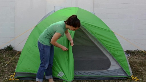 How to set up the EMS Big Easy 4 Tent: Eastern Mountain Sports - image 10 from the video