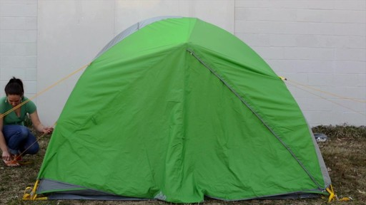 How to set up the EMS Big Easy 4 Tent: Eastern Mountain Sports - image 7 from the video