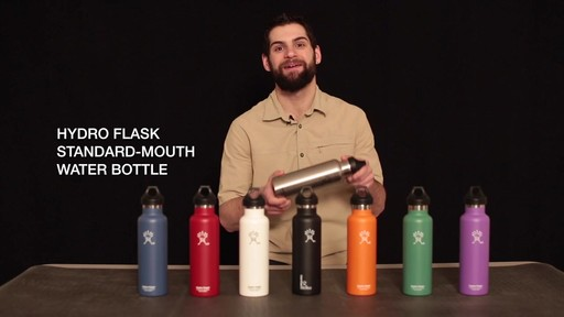 HYDRO FLASK Standard-Mouth Water Bottle - image 1 from the video