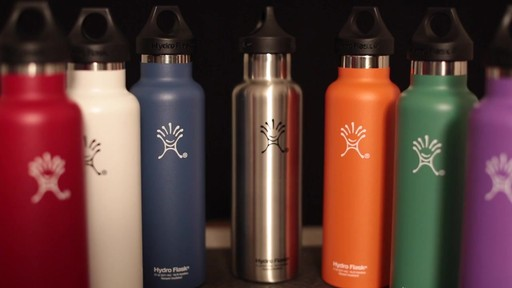 HYDRO FLASK Standard-Mouth Water Bottle - image 3 from the video