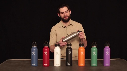 HYDRO FLASK Standard-Mouth Water Bottle - image 6 from the video