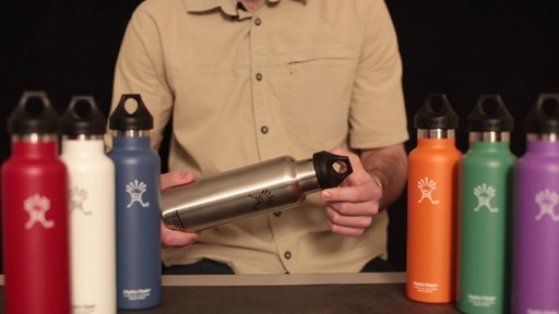 HYDRO FLASK Standard-Mouth Water Bottle - image 7 from the video