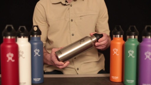 HYDRO FLASK Standard-Mouth Water Bottle - image 8 from the video