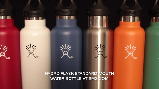 HYDRO FLASK Standard-Mouth Water Bottle - image 9 from the video