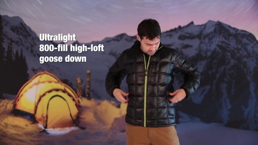 Eastern Mountain Sports:Men's Sector Down Jacket - image 3 from the video