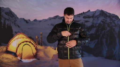Eastern Mountain Sports:Men's Sector Down Jacket - image 4 from the video