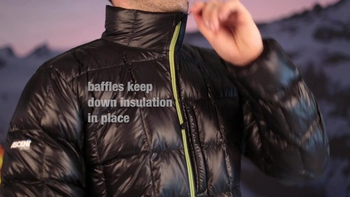 Eastern Mountain Sports:Men's Sector Down Jacket - image 5 from the video