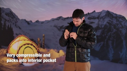 Eastern Mountain Sports:Men's Sector Down Jacket - image 8 from the video