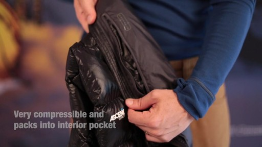 Eastern Mountain Sports:Men's Sector Down Jacket - image 9 from the video
