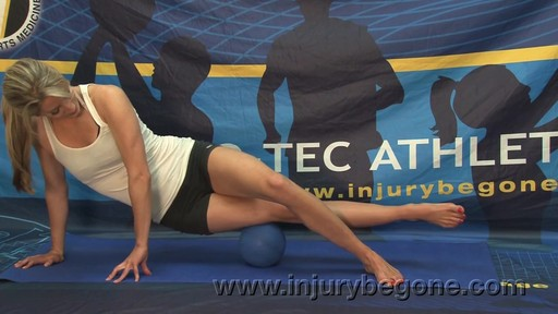 PRO-TEC The Orb Deep Tissue Massage Ball - Hamstring Muscles  - image 7 from the video