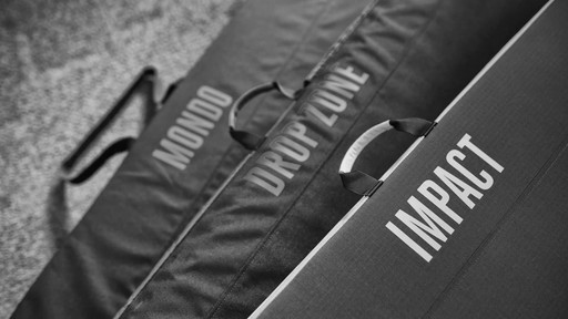 BLACK DIAMOND Mondo, Drop Zone and Impace Bouldering Pads - image 9 from the video