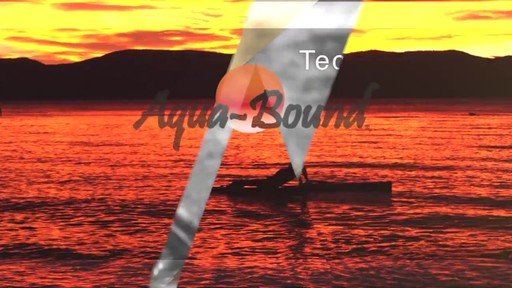 AQUABOUND Spark 2-Piece Adjustable Stand Up Paddle - image 1 from the video