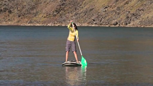 AQUABOUND Spark 2-Piece Adjustable Stand Up Paddle - image 10 from the video